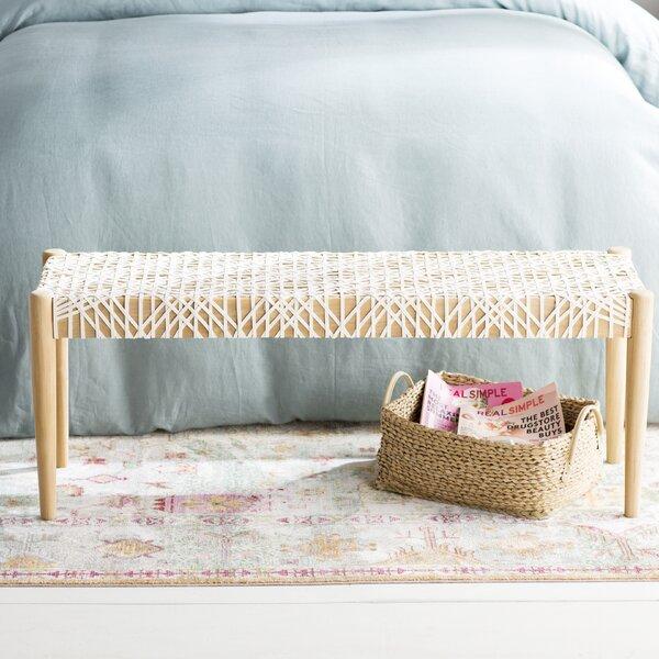 Albertina Wood Bench by Mistana
