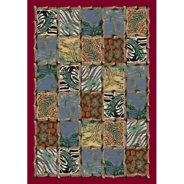 Signature Cayman Isle Ruby Area Rug by Milliken