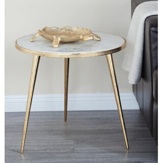 Arkadelphia Marble End Table by Mercer41 SKU:ED670580 Description