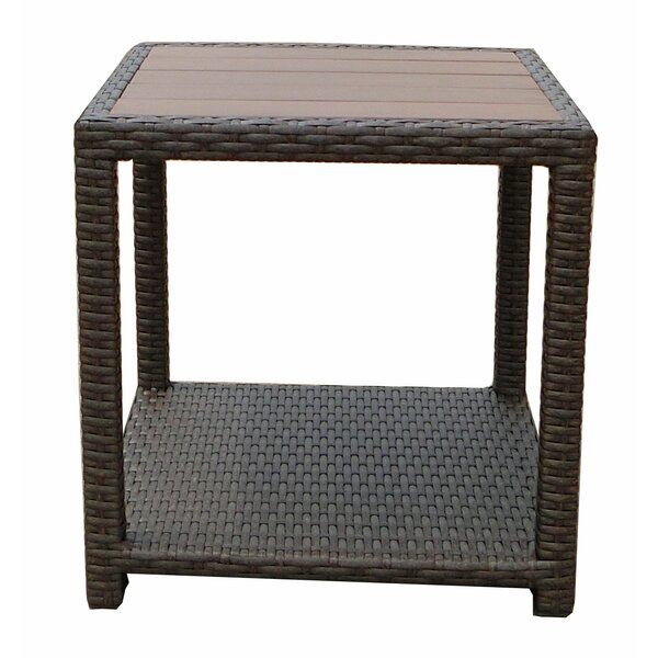 Tampa Manufactured Wood Side Table by World Wide Wicker