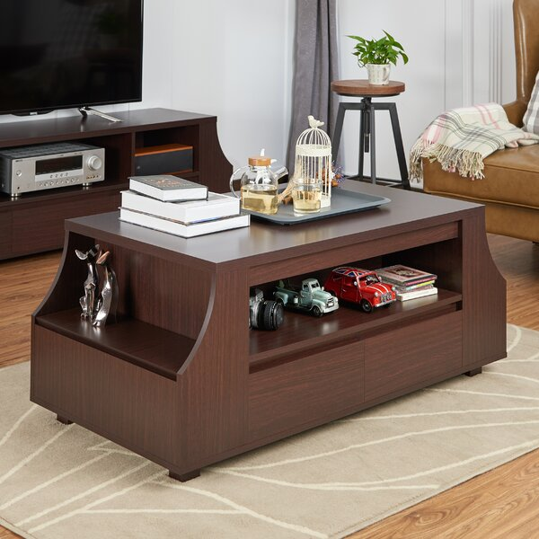 Decatur Coffee Table with Storage by Red Barrel Studio Red Barrel Studio