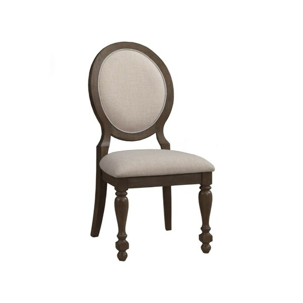Hackworth Rubberwood Upholstered Dining Chair (Set of 2) by One Allium Way
