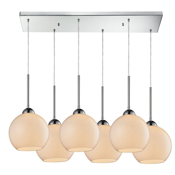 Delia 6-Light Kitchen Island Pendant by Langley Street