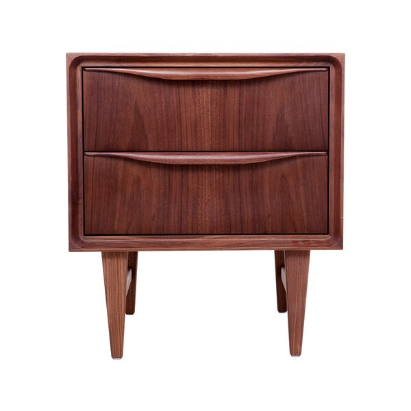 Cresskill 2 Drawer Nightstand by Corrigan Studio