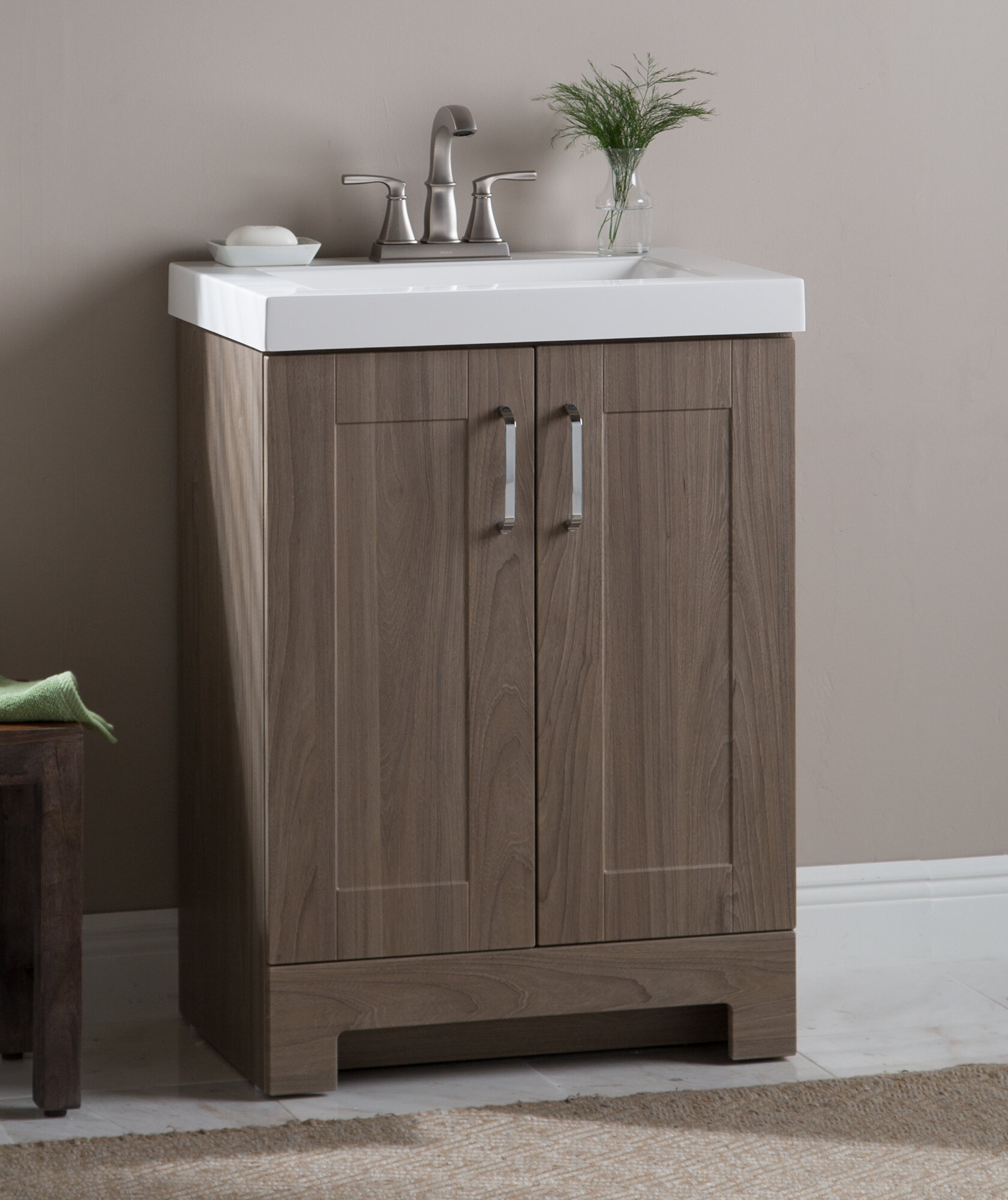 Nels 25 Single Bathroom Vanity Set
