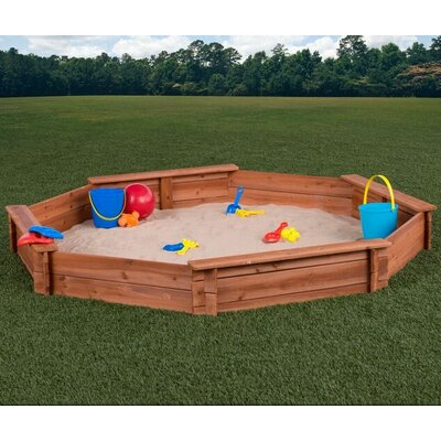 Creative Cedar Designs 6.6' Octagon Sandbox