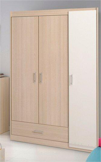 Laude Run Maultsby 3 Door Wardrobe