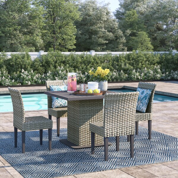 Rockport 5 Piece Dining Set by Sol 72 Outdoor