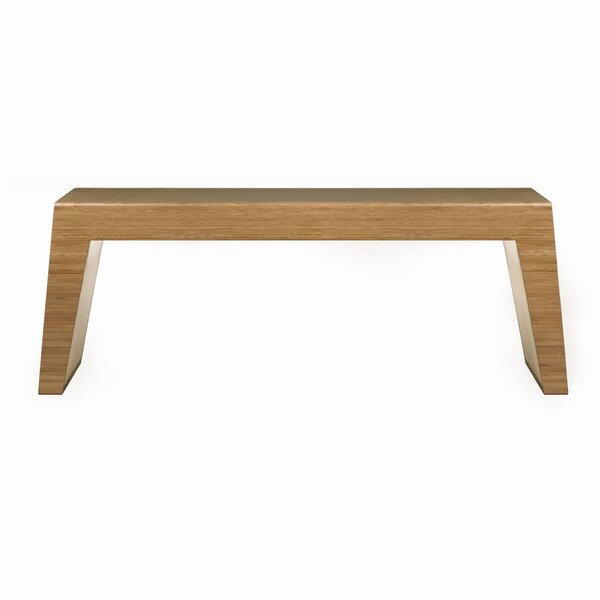 Hollow Two Seat Bench by Brave Space Design