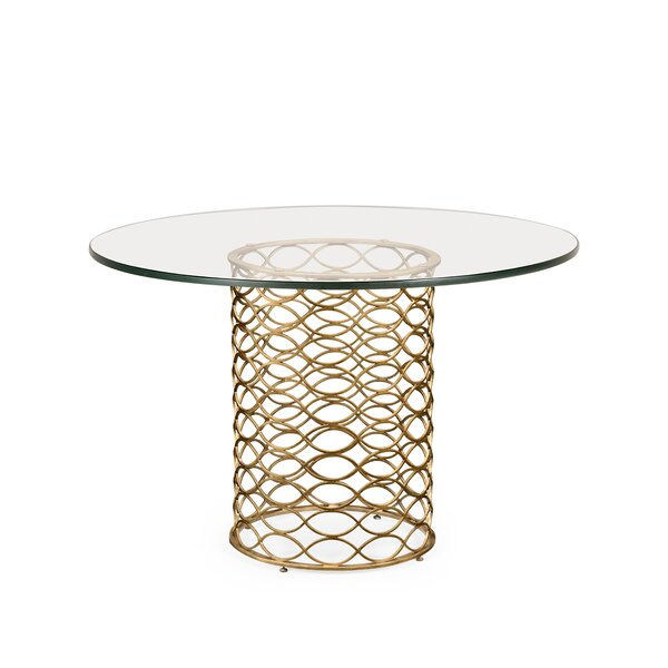 Luxe Interlaced Dining Table by Jonathan Charles Fine Furniture