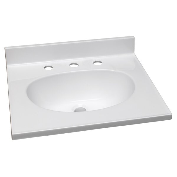 25 Single Bathroom Vanity Top by Design House