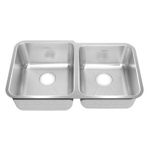 31.88 L x 18.75 W Undermount Double Combination Bowl Kitchen Sink by American Standard