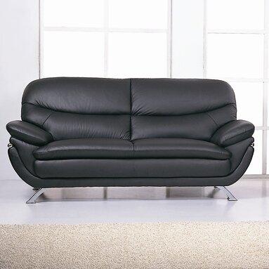 Jonus Leather Sofa by Hokku Designs