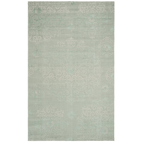 Port Laguerre Light Green Area Rug by Bungalow Rose
