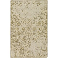 Jayden Hand-Knotted Olive/Khaki Area Rug by Bungalow Rose