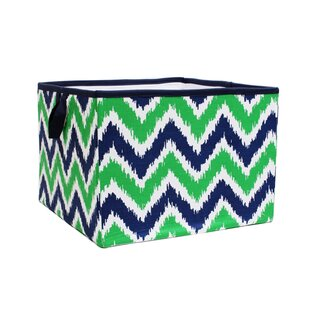 Find the perfect Lauro Navy/Green Storage Box Large By Harriet Bee