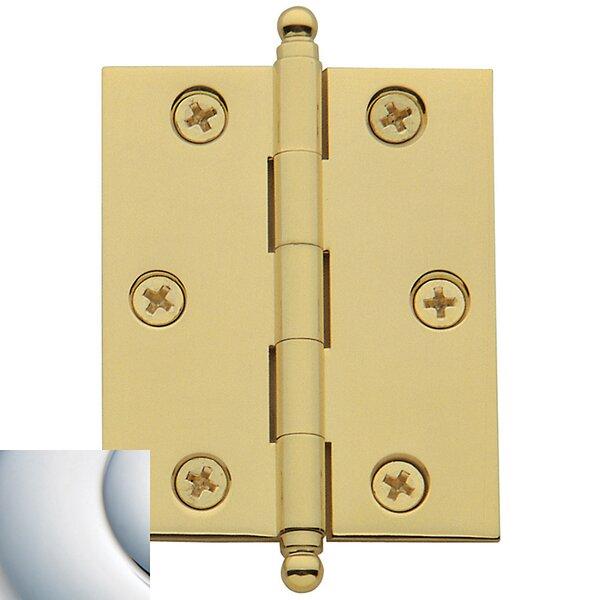 0.8 H x 0.6 W Butt Bearing Pair Door Hinges (Set o