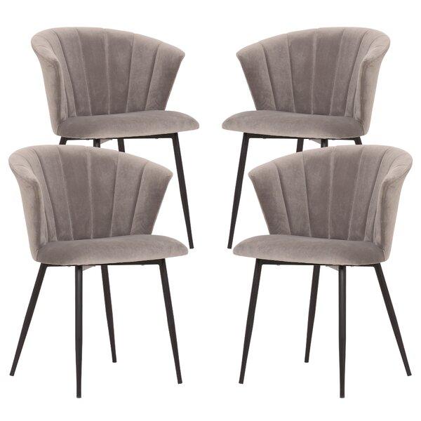 Steel Upholstered Dining Chair (Set of 4) by Brayden Studio