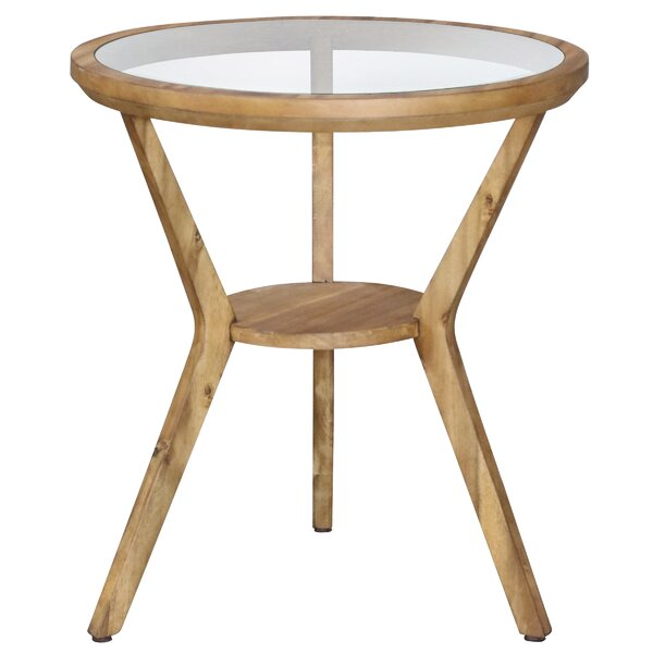 Swineford End Table with Storage by Millwood Pines