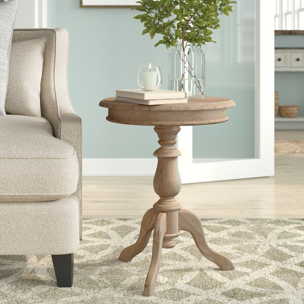 Rollingwood Pedestal Table by Highland Dunes