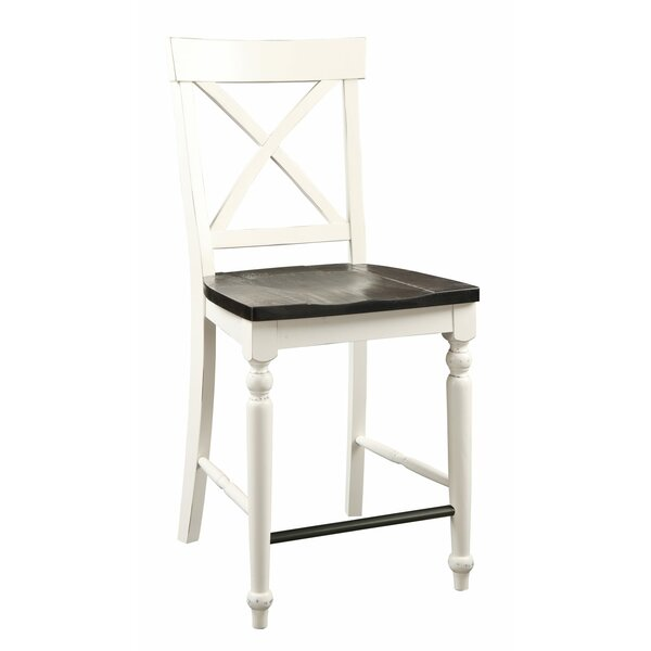 Hanford Bar Stool (Set of 2) by Beachcrest Home