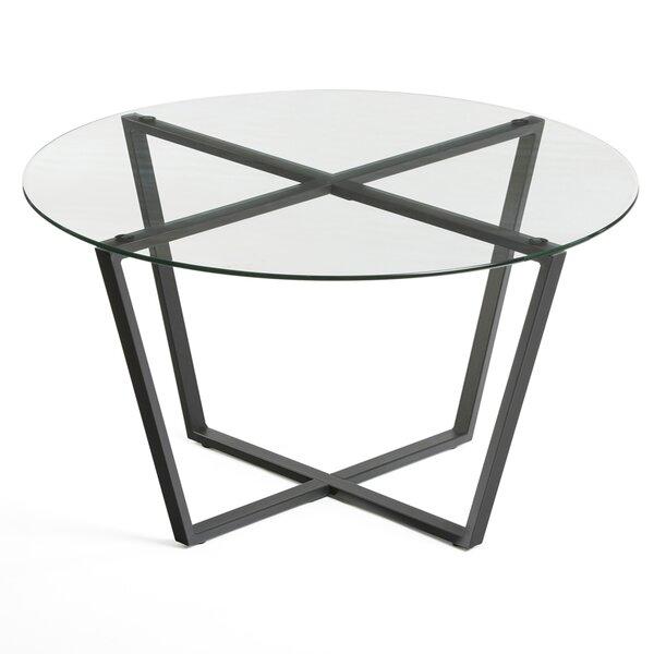 Moby Cross Legs Coffee Table By Ebern Designs