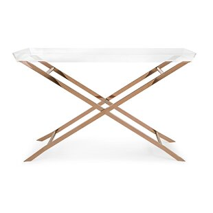 Searching for Casey Acrylic Tray Console Table ByIvy Bronx