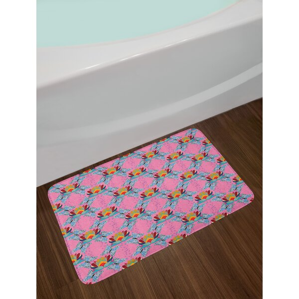 The Lotus Bath Rug by East Urban Home