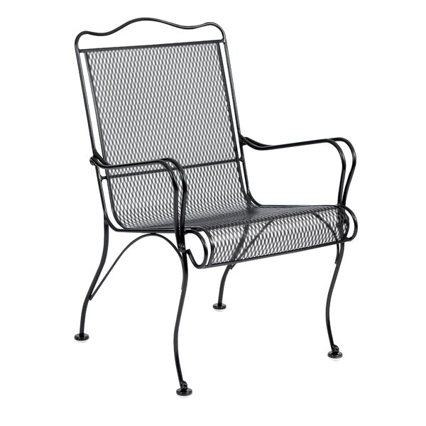 Tucson High Back Patio Dining Chair by Woodard
