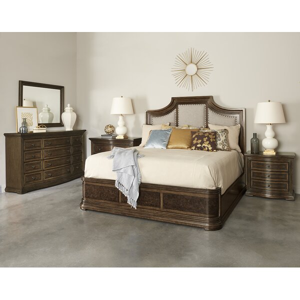 Salyer Platform Solid Wood Configurable Bedroom Set by Alcott Hill