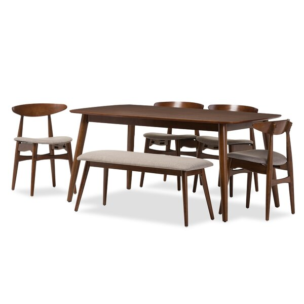 Coral Springs 6 Piece Dining Set by Langley Street