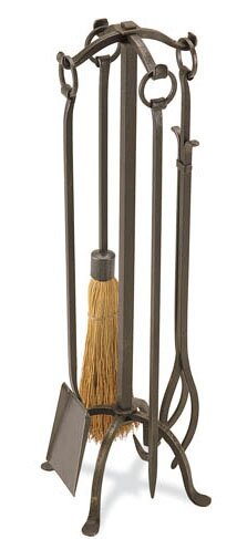 Craftsman 5 Piece Fireplace Tool Set by Pilgrim Hearth