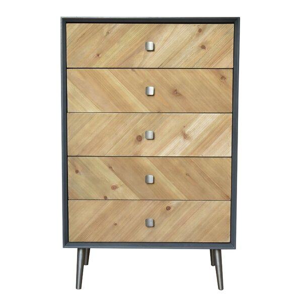 Getz 5 Drawer Accent Cabinet By Ivy Bronx