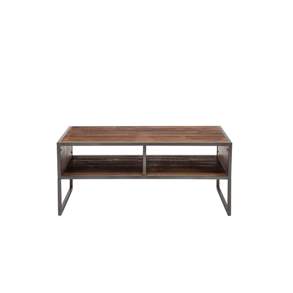 Alanson Sled Coffee Table With Storage By Union Rustic
