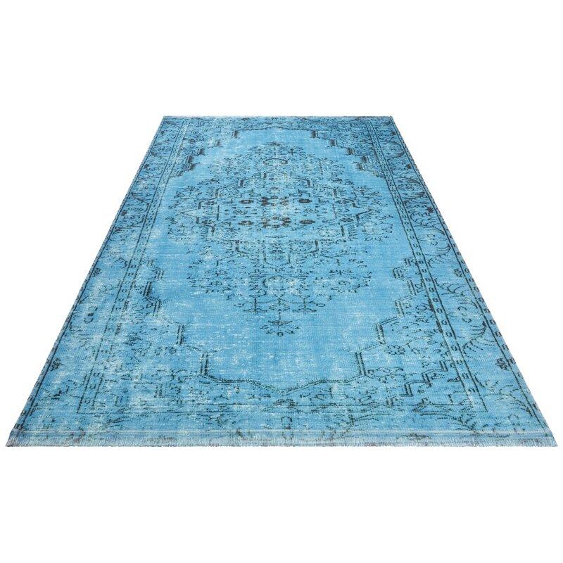 Nouristan Babur Rika Aqua Blue Rug