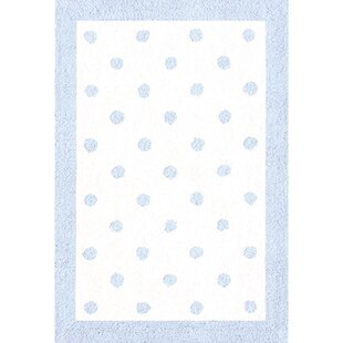 Compare prices Blue/White Kids Rug By The Conestoga Trading Co.