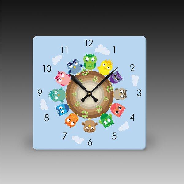 Large Acrylic Print Wall Clock by Acrylic Idea Factory
