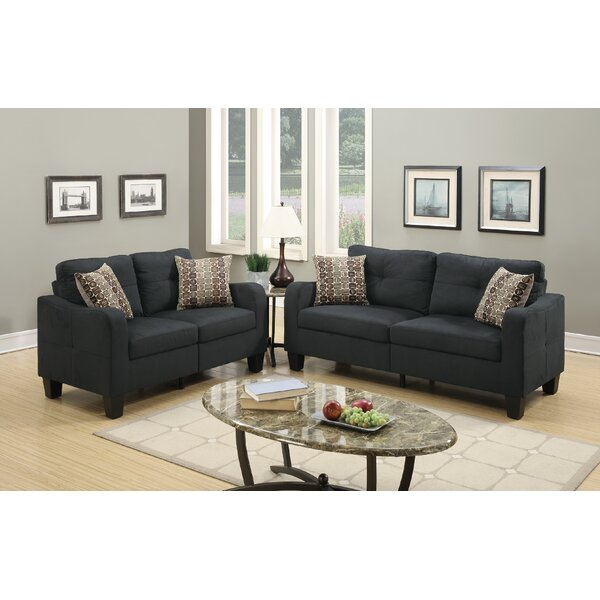 Dreer 2 Piece Living Room Set by Ebern Designs