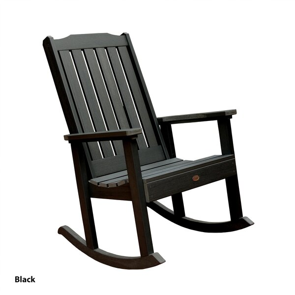 Spiegel Teak Rocking Chair by Darby Home Co