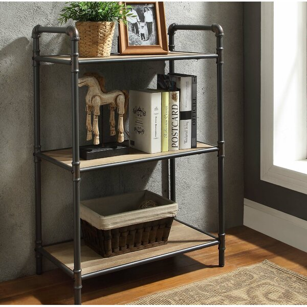 Christofor Industrial Standard Bookcase by 17 Stories