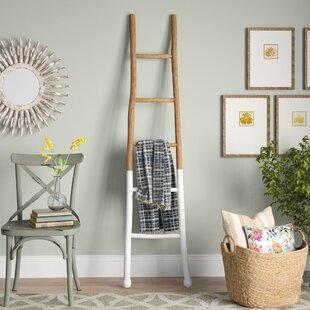 Wood 6 Ft Blanket Ladder