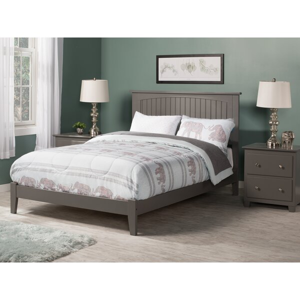 Odalys Atlantic Gray Standard Bed by Darby Home Co