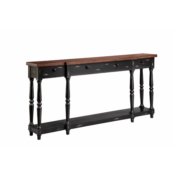 World Menagerie Black Console Tables