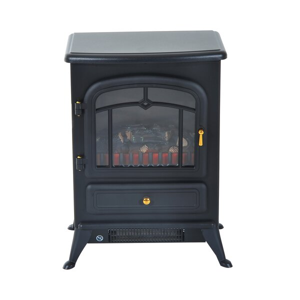 Manor Electric Fireplace By Charlton Home
