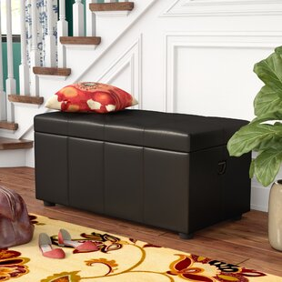 Affordable Price Stone Castle Storage Bench By Astoria Grand