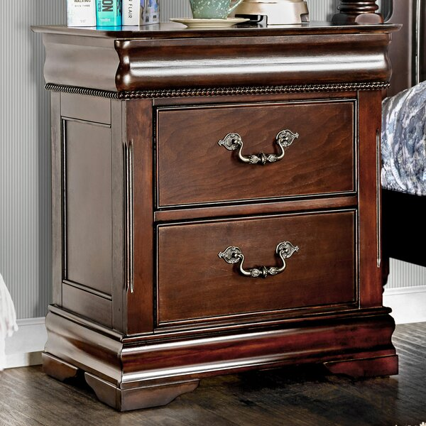 Waltham 2 Drawer Nightstand by Astoria Grand