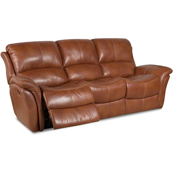 Internet Shopping Maskell Leather Reclining Sofa by Orren Ellis by Orren Ellis