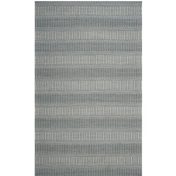 Alexandria Hand-Woven Silver Area Rug by Langley Street