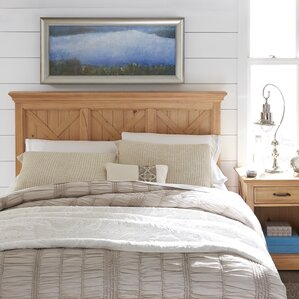 Burbury Country Lodge Panel Headboard by Loon Peak