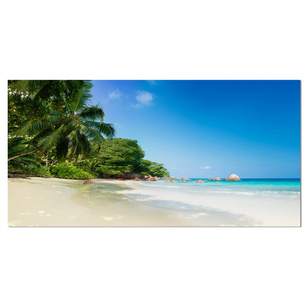 Beautiful Praslin Island Seychelles Photographic Print on Wrapped Canvas by Design Art